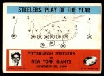 1965 Philadelphia #154   -  Buddy Parker Pittsburgh Steelers Front Thumbnail