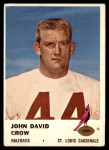 1961 Fleer #23  John David Crow  Front Thumbnail