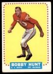 1964 Topps #101  Bobby Hunt  Front Thumbnail