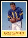 1964 Philadelphia #96  Danny Villanueva     Front Thumbnail