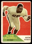 1960 Fleer #120  Elvin Caldwell  Front Thumbnail