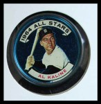 1964 Topps Coins #129   -   Al Kaline All-Star Front Thumbnail