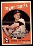 1959 Topps #202  Roger Maris  Front Thumbnail