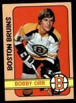 1972 Topps #100  Bobby Orr  Front Thumbnail
