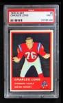 1963 Fleer #6  Charles Long  Front Thumbnail
