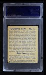 1935 National Chicle #23  Beattie Feathers   Back Thumbnail