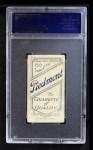 1909 T206 xCAP Al Bridwell  Back Thumbnail