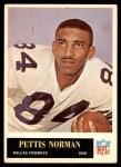 1965 Philadelphia #51  Pettis Norman   Front Thumbnail