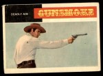 1958 Topps TV Westerns #12   Deadly Aim  Front Thumbnail