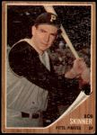 1962 Topps #115 GRN Bob Skinner  Front Thumbnail