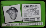 1971 Topps Super #43  Willie Stargell  Back Thumbnail
