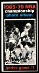 1970 Topps #168   -  Willis Reed  1969-70 NBA Championship - Game 1 Front Thumbnail