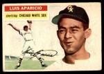 1956 Topps #292  Luis Aparicio  Front Thumbnail