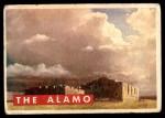 1956 Topps Davy Crockett Green Back #50   The Alamo   Front Thumbnail