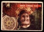 1957 Topps Robin Hood #14   Evil Prince John Front Thumbnail