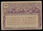 1959 You'll Die Laughing #58   I told you we dug Back Thumbnail