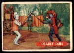 1957 Topps Robin Hood #47   Deadly Duel Front Thumbnail
