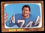 1966 Topps #128  Ron Mix  Front Thumbnail