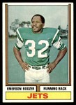 1974 Topps #495  Emerson Boozer  Front Thumbnail