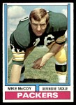 1974 Topps #425  Mike McCoy   Front Thumbnail