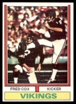 1974 Topps #515  Fred Cox  Front Thumbnail