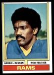 1974 Topps #420  Harold Jackson  Front Thumbnail
