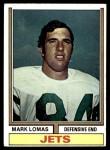 1974 Topps #455  Mark Lomas  Front Thumbnail