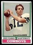 1974 Topps #500  Roger Staubach  Front Thumbnail
