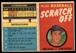 1971 Topps Scratch-Offs  Mike Hegan   Front Thumbnail