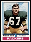 1974 Topps #318  Malcolm Snider  Front Thumbnail