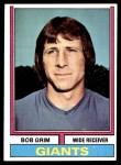 1974 Topps #368  Bob Grim  Front Thumbnail