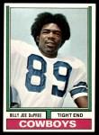 1974 Topps #277  Billy Joe DuPree  Front Thumbnail