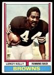 1974 Topps #350  Leroy Kelly  Front Thumbnail