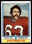 1974 Topps #274  Rick Cash  Front Thumbnail