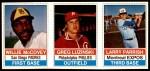 1976 Hostess Panels #124 #125 #126 Willie McCovey / Greg Luzinski / Larry Parrish  Front Thumbnail