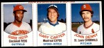 1977 Hostess Panels #40 #41 #42 George Foster / Gary Carter / John Denny  Front Thumbnail