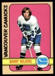 1972 Topps #102  Barry Wilkins  Front Thumbnail