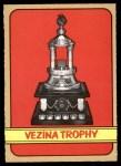 1972 O-Pee-Chee #155   Vezina Trophy Winners Front Thumbnail