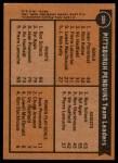 1975 Topps #326   -  Jean Pronovost / Ron Schock Penguins Leaders Back Thumbnail