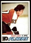 1977 O-Pee-Chee #185  Reggie Leach  Front Thumbnail