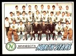 1977 O-Pee-Chee #79   North Stars Team Front Thumbnail