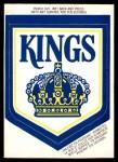 1973 O-Pee-Chee Team Logos #8   Kings Logo Front Thumbnail
