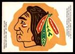 1973 O-Pee-Chee Team Logos #6   Blackhawks Logo Front Thumbnail