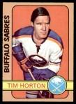1972 O-Pee-Chee #197  Tim Horton  Front Thumbnail