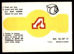 1973 O-Pee-Chee Rings #16   Flames Front Thumbnail