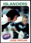 1975 Topps #224  Jude Drouin   Front Thumbnail