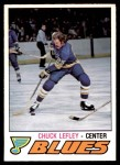 1977 O-Pee-Chee #340  Chuck Lefley  Front Thumbnail