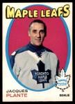1971 O-Pee-Chee #195  Jacques Plante  Front Thumbnail