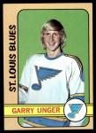 1972 Topps #35  Garry Unger  Front Thumbnail