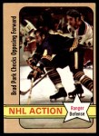 1972 O-Pee-Chee #85 DEF  -  Brad Park In Action Front Thumbnail